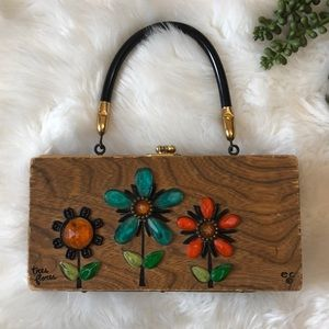 GUC Enid Collins Tres Flores Original Box Bag!